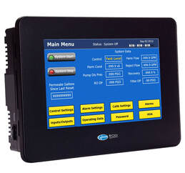 Treatment system remote controller